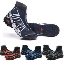 Men Salomon Snowcross Sneakers Warm Sports Shoes Running Shoes High Cut Style