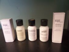 Lot of FIVE Philosophy SKIN CARE Mini Travel Sized Facial Makeup NEW