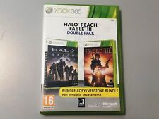 HALO REACH FABLE III 3 DOUBLE PACK XBOX 360