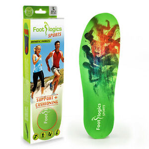 Footlogics Sports - Orthotic insoles (arch supports)  for sports and running