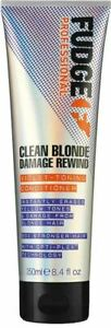 Fudge Clean Blonde Damage Rewind Violet Toning Conditioner 250ml