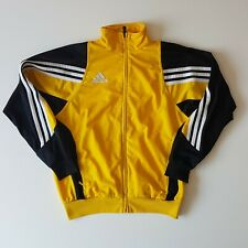 Adidas Men's Hoody, Size Small, yellow and black, FREE Shipping in the UK.