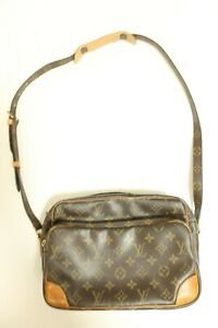 Authentic Louis Vuitton Monogram Nile Shoulder Bag Cross body #7560