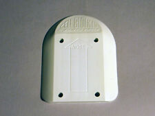 "1980s NOS Old School, SANTA CRUZ Cell Block III Skateboard Riser Pad 3/8"", White"