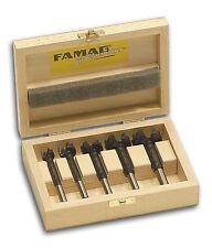 FAMAG 1663.505 HM-Bormax³, Forstnerbohrer-Satz im Holzkasten, Ø 15,20,25,30,35mm