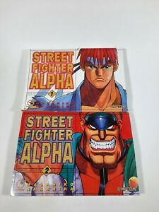 Street Fighter Alpha Manga book 1 and 2 Udon Entertainment Corp. Capcom 2007
