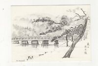 Arashiyama Kyoto Japan Postcard 629a