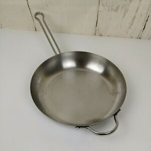 "1801 Revere Ware Proline Copper Core 6760 10""/25cm Saute Skillet Fry Pan"