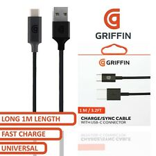 Griffin Fast Charger Type C USB-C Data Charging Sync Cable For Samsung S8 S9 S10