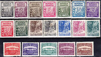 INDONESIA - Sc 368 - 386 - COMPLETE MH SET - LOOK!
