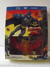 Coffret BATMAN L'instinct Animal Blu-Ray + DVD + Figurine Neuf sous Blister