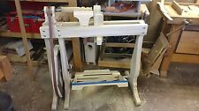 Woodworkers Treadle Lathe, Wood bodied and Foot Operated