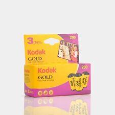 Kodak Gold 200 Color 35mm Film (24 Exposures) - 3 Pack
