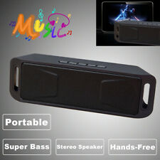 Wireless Bluetooth Mini Speaker For Phone Tablet Stereo Super Bass USB/TF/AUX/FM