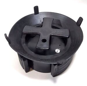 "Valve Box Debris/Mud Plug for 6"" Valve box, 5.9""-6.25"" I.D. for Clean Valveboxes"