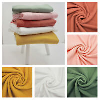 TRIPLE GAUZE Cotton Muslin Lawn - 100% Cotton Dressmaking Fabric OEKO-TEX