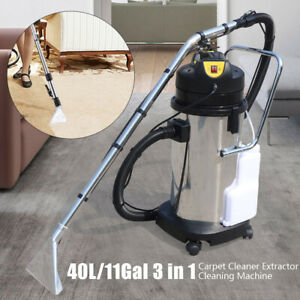110V 40L Handheld Carpet Cleaner Portable Dust Cleaning Machine Vacuum Extractor