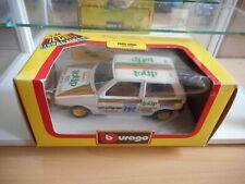 """Bburago burago Fiat Uno """"Totip"""" in White on 1:24 in Box"""