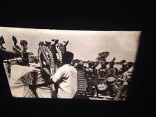 "Bozo Mali African Tribal Art ""Marionette Performance"" 35mm Vintage Glass Slide"