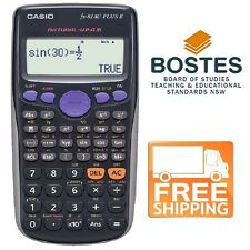 Casio FX82AU PLUS II Scientific Calculator - Approved by Board of Studies