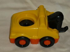Fisher Price Little People Garage Tow Truck Sounds Yellow & Orange