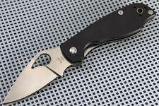 Couteau Spyderco Byrd Crow Lame Acier CTS BD1 Manche G-10 BY09GP2