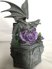 Dragon Beauty trinket box by anne stokes jewelry box new