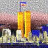 MARIA MURGIA - 11 settembre 2001 - Fotomosaico digitale cm 80x80 + ARCHIVIO