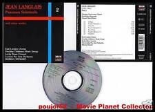 "LANGLAIS ""Sacred Choral Music"" vol.2 (CD) Stewart 1997"