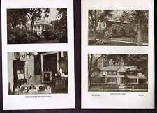 Longfellow & Hawthorne Homes 1905 Lithographs