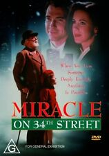 MIRACLE ON 34TH STREET DVD=RICHARD ATTENBOROUGH=REGION 4 AUSTRALIAN=NEW & SEALED