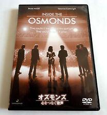 INSIDE THE OSMOND JAPAN DVD 2009 IVCF-5361 Osmond Brothers Danny Marie Jimmy