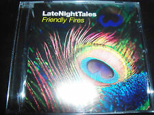Friendly Fires Late Night Tales Mix CD - Like New