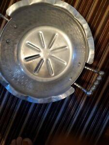Vintage Everlast Forged Aluminum Serving Ornate Dish