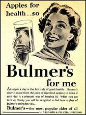 Bulmer's, Rétro Plaque Métal/signe pub, bar, Man Cave, cadeau de nouveauté