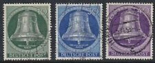 West Germany Berlin 1953 Freedom Bell Clapper Middle Selection FU Mi102,104-5