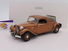 "Norev 181441 # Citroen Traction Avant Coupe Baujahr 1939 in "" braun "" 1:18 NEU !"