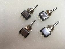 2K135 4 x Mini 3A SPDT On-Off-On Switch Ideal for Model Railway Use Etc 1stClass