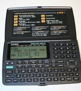 Vintage CASIO BOSS  Business Organizer Electronic Diary SF-4700L 1988
