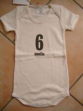 (X194) Imps & Elfs Baby Body Strampler ohne Beine + Druck & Logo Aufnäher gr.68