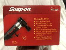 Snap On Right Angle Mini Die Grinder Air Tool PT110A