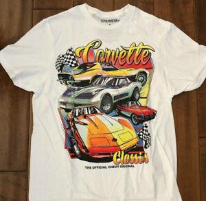 Corvette Classic Vintage Style shirt S-3XL T-shirt USA muscle car GM Original