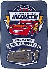 Disney/Pixar Cars 3 Movie Toddler Blanket with Lightning McQueen & Jackson Storm