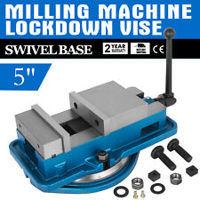 5 Accu Lock Vise Precision Milling Drilling Machine Bench Clamp Clamping Vice
