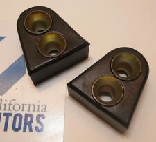 VW DOOR CENTERING WEDGE PAIR LEFT & RIGHT TYPE1 ALL YEARS BUG 141837277 SET OF 2