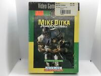 Mike Ditka's Power Football (Sega Genesis, 1991) Complete In Box Great Condition