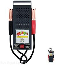Schumacher Bt-100 100 Amp Battery Load Tester Shock Resistant Diagnosis New