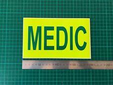 Medic Aimant fluorescentes Mountain AMBULANCE EMERGENCY SERVICE porte voiture Magnétique