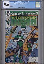 Green  Lantern Emerald Dawn Vol. II #2  CGC 9.6 DC 1991 Comic: NEW CGC Frame
