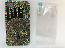 FOR IPHONE 4/4S CASE LUXURY BLING CRYSTAL DIAMOND 3D COVER - multi-color